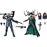 """Marvel E6350 Legends Series Thor: Ragnarok 6""""-Scale Movie-Inspired Skurge & Marvels Hela Collectible Action Figure 2 Pack Bro"""