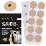 MagnetRX® Magnetic Acupressure Patches - Ultra Strength Healing Magnets for Body & Pain Relief - 3,500 Gauss Acupressure Magn