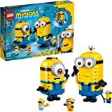 LEGO Minions: Brick-Built Minions and Their Lair (75551) Building Kit for Kids, Great Birthday Present for Kids Who Love Mini