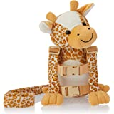 Playette 2 in 1 Harness Buddy Giraffe, Multi
