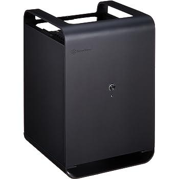 SilverStone PCケース Mini-ITXマザーボード対応 Air Penetratorファン内蔵 垂直配置 ドライブを搭載可能 SST-CS01B-HS