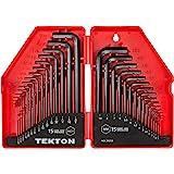 TEKTON Hex Key Wrench Set, Inch/Metric, 30-Piece | 25253