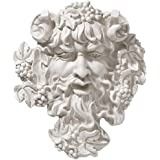 Bacchus God of Wine Greenman Wall Sculpture in Antique Stone [Kitchen]