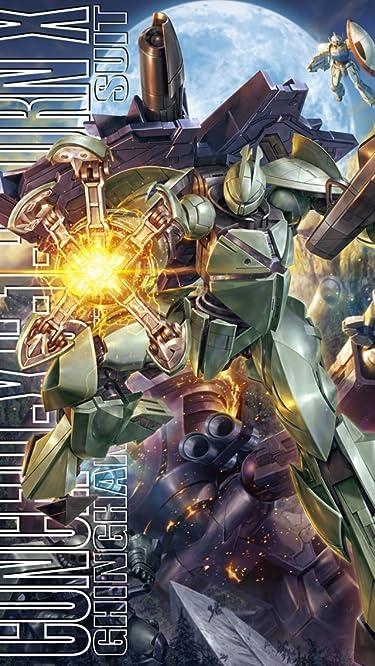 機動戦士ガンダム  iPhone/Androidスマホ壁紙(640×1136)-1 - Concept-X6-1-2 ターンエックス