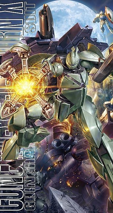 機動戦士ガンダム  iPhone/Androidスマホ壁紙(744×1392)-1 - Concept-X6-1-2 ターンエックス