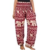 Lofbaz Women's Elephant Yoga Harem Pants Plus