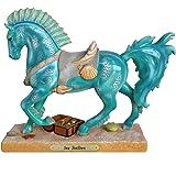 Enesco Trail of Painted Ponies Sea Stallion Figurine, 7 Inch, Multicolor