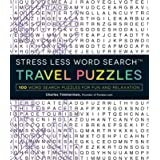 Stress Less Word Search - Travel Puzzles: 100 Word Search Puzzles for Fun and Relaxation