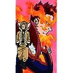 僕のヒーローアカデミア iPhoneSE/5s/5c/5(640×1136)壁紙 エンデヴァー,ホークス