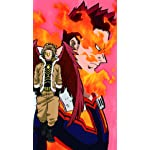 僕のヒーローアカデミア フルHD(1080×1920)スマホ壁紙/待受 エンデヴァー,ホークス