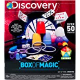 Discovery Box of Magic by Horizon Group USA, Great Stem Science Experiments, Over 50 Magic Tricks & Optical Illusions, Magic