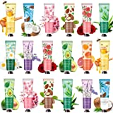 18 Pack Hand Cream for Dry Cracked Hands,Working Hands, Natural Plant Fragrance Hand Lition Moisturizing Hand Care Cream Gift