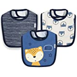 Gerber Baby Boys 3-Pack Dribbler Bib
