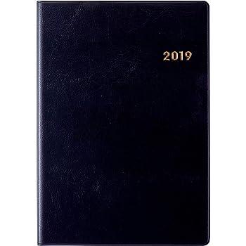 高橋 手帳 2019年 A5 ウィークリー ニューダイアリー 黒 No.86 (2018年12月始まり)