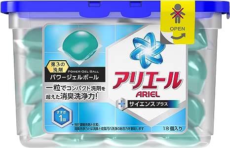 アリエール 洗濯洗剤 液体 パワージェルボール 437g (18個入り) [並行輸入品]