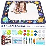 Shinymi お絵かきシート 120cm*90cm NEW おえかき ぬりえ おもちゃ 描画ツール カラフルシート 子供 プレゼント