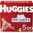 Huggies Little Movers Baby Diapers Size 5, 120 Ct
