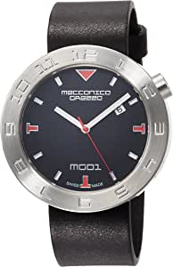 [メカニカグレッツァ] 腕時計 0144S-BKBK 正規輸入品 ブラック