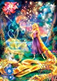 108ピース ジグソーパズル 塔の上のラプンツェル 輝く魔法の髪 【光るジグソー】(18.2x25.7cm)