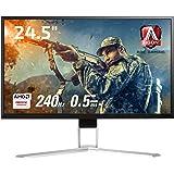 AOC ゲーミングモニター ディスプレイ AG251FZ2/11 (24.5インチ/FHD/TN/HDMI/0.5ms/DisplayPort/240Hz/フリッカーフリー/ローブルーモード)