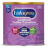 Enfagrow Gentlease Toddler Transitions Gentle Baby Formula Milk Powder, 20 oz Can - For Easing Gas & Crying, Easy-to_Digest P