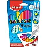 Maped Color'Peps 'Magic' - Colour Reveal Felt Tip Pens (Pack of 10)