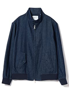 Denim Harrington Jacket 51-18-0278-819: Navy
