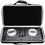 LTGEM Case for Pioneer DJ DDJ-SB3 / DDJ-SB2 / DDJ-400 or Portable 2-channel Controller or DDJ-RB Performance DJ Controller-Bl