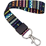 SENLLY Trib Vintage Hand Wrist Lanyard Premium Quality Wristlet Strap with Metal Clasp, for Key Chain, Camera, Cell Mobile Ph
