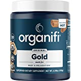 Organifi: Gold - Superfood Supplement Powder - 30 Day Supply - Experience Deeper Sleep- Boosts Immune System and Cognitive Fu