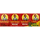Sun-Maid Raisins, 14g, Pack of 12