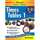 Excel Basic Skills Workbook: Times Tables 1 Years 2-3
