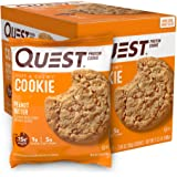 Quest Nutrition Protein Cookie, Peanut Butter, 58g, (Pack of 12)
