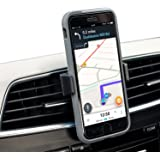 Olixar Phone Holder for Car Air Vent, Extends to Fit Your Phone - Olixar Invent Mini - 360 Degree Rotation - Case Compatible