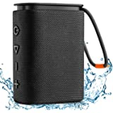 IPX7 Waterproof Bluetooth Speaker, Hadisala H2 Portable Wireless Speaker Bluetooth 5.0 with Rich Bass HD Stereo Sound 15H Pla