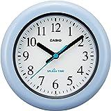 CASIO(カシオ) 掛け時計 ブルー 防湿 防塵 スプラッシュタイム 置き掛け兼用 IQ-180W-2JF