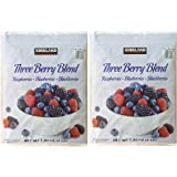 KS Natures Three Berries カークランドシグネチャー 冷凍スリーベリーブレンド(ラズベリー、ブルーベリー、ブラックベリー)1.81kg×2袋