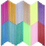 KIZUXI ホットメルト接着スティック 12色 ホットグルーガンスティック カラー接着剤 DIY クラフトスティックツ…