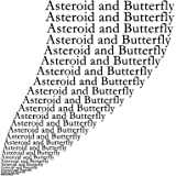 Asteroid and Butterfly [生産限定盤] (CD)