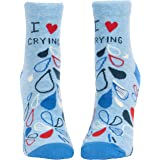 Blue Q Women's Novelty Ankle Socks (fit women's shoe size 5-10)