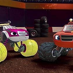 Blaze and the Monster Machinesの人気壁紙画像 Raceday Rescue