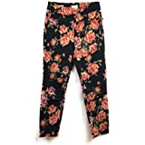 Tribal Womens 5056O-1386 Pull on Ankle Jegging in Printed Denim Casual Pants