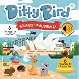 DITTY BIRD Baby Sound Book: Our Sounds of Australia Musical Book is The Perfect Toys for 1 Year Old boy and 1 Year Old Girl G