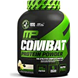 MusclePharm Combat Protein Powder, 5 Protein Blend, Vanilla, 4 Pounds