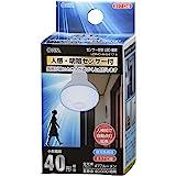 オーム電機 LED電球 レフランプ形 E17 40形相当 人感・明暗センサー付 昼光色 LDR4D-W/S-E17 9 06-3414 OHM