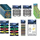 Party Bundle Harry Potter Birthday Party Favor Set includes Loot Bags, Tattoos, Stickers, Bracelets, Glasses, Pencils