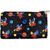 Loungefly x Disney Lilo and Stitch in Space Allover-Print Flap Wallet