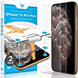 Power Theory Compatible with iPhone 11 Pro Max Screen Protector - Tempered Glass Film for Apple iPhone 11 Max Pro [2-Pack][Ca