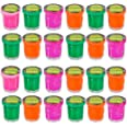 Mini Noise Putty Slime - (Pack of 48) Slime Party Favors Sludge for Kids All Ages, Boys & Girls, Bulk Neon Silly Noise Putty