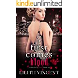 First Comes Blood: A Mafia Reverse Harem Romance (Promised in Blood Book 1)